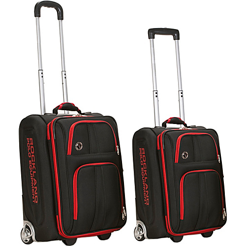 Rockland Luggage Varsity 2 Piece Carry On Luggage Set