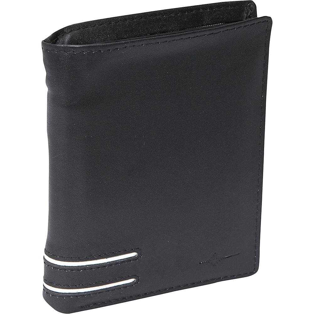 Buxton Luciano Deluxe Two-Fold - RFID - Black - Work Bags & Briefcases, Men's Wallets