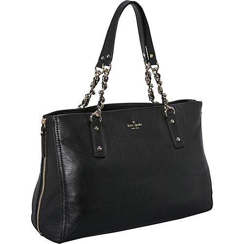 kate spade new york Cobble Hill Andee Shoulder Satchel Black - kate spade new york Designer Handbags