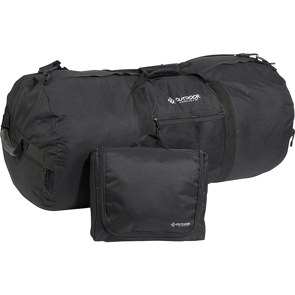 Outdoor Products Giant 36 Utility Duffle Black Outdoor Products Outdoor Duffels