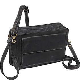 EW Top Zip Organizer Black