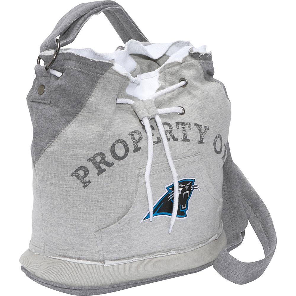 Littlearth NFL Hoodie Duffel Carolina Panthers - Littlearth Fabric Handbags
