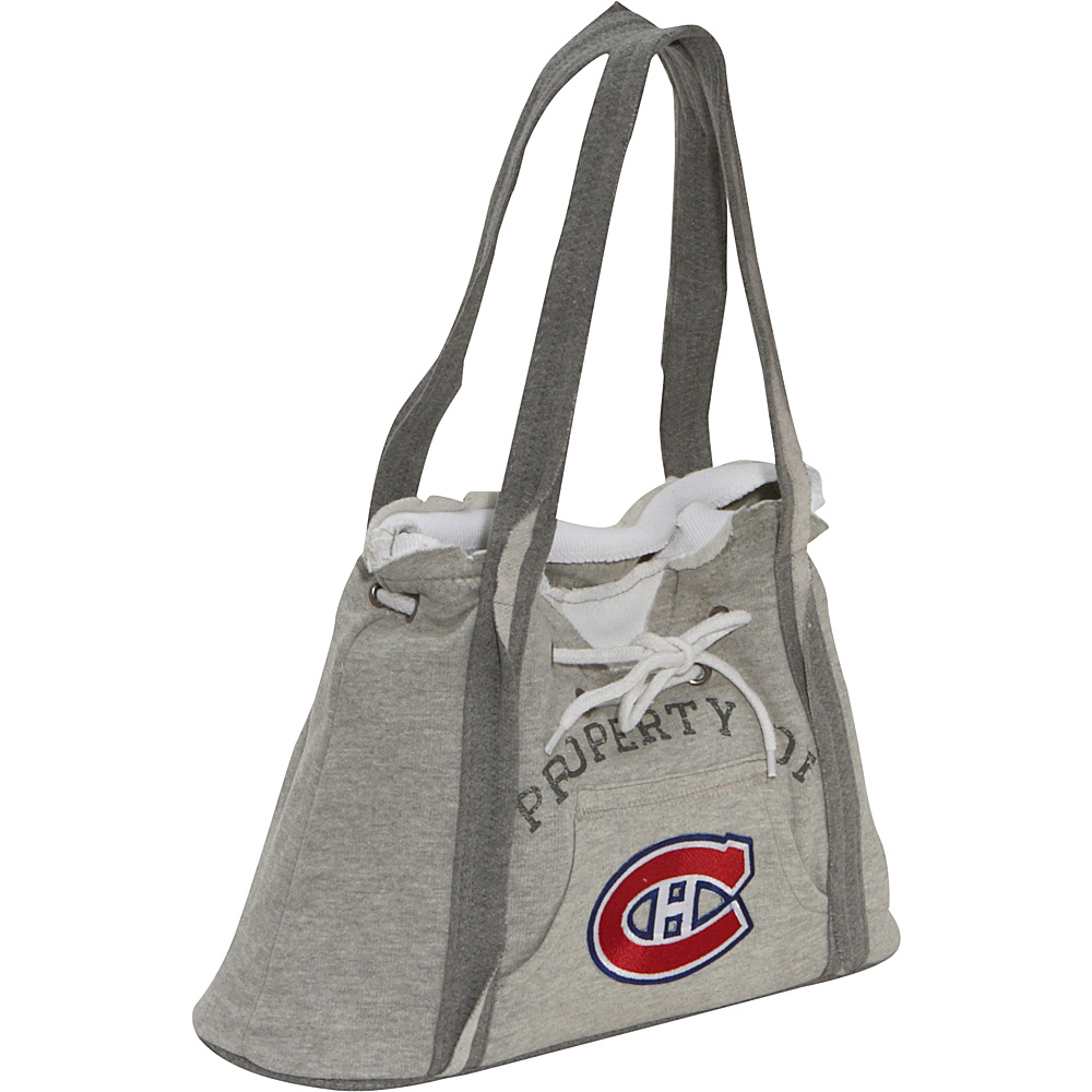 Littlearth NHL Hoodie Purse Grey/Montreal Canadiens Montreal Canadiens - Littlearth Fabric Handbags - Handbags, Fabric Handbags