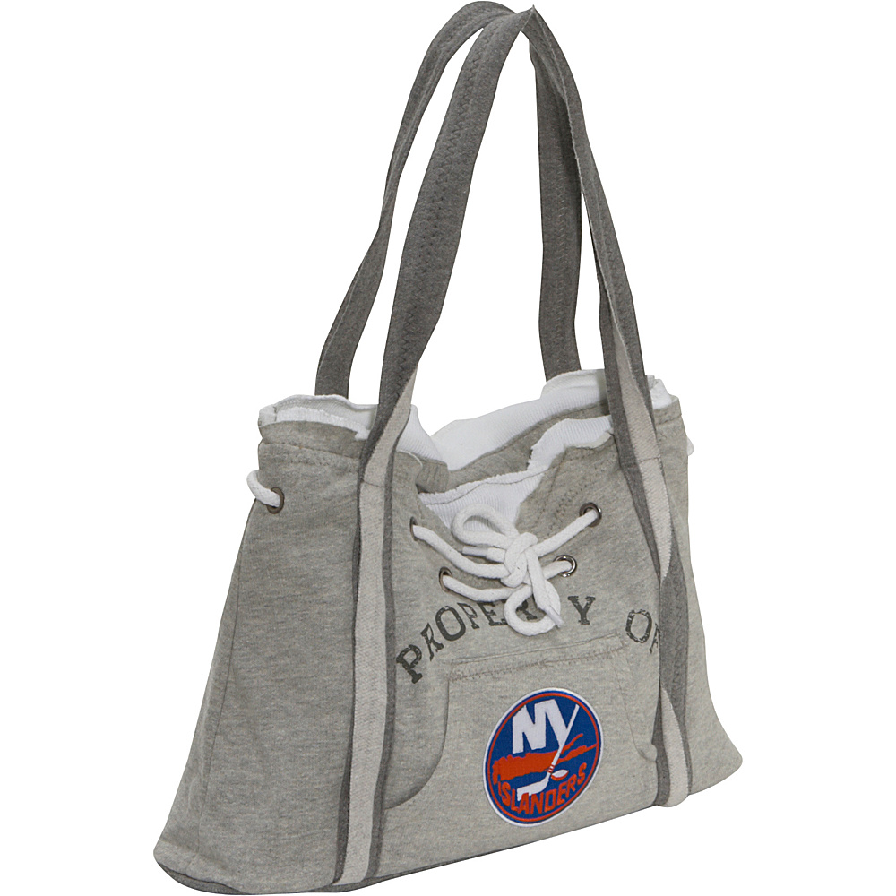 Littlearth NHL Hoodie Purse Grey/New York Islanders New York Islanders - Littlearth Fabric Handbags - Handbags, Fabric Handbags