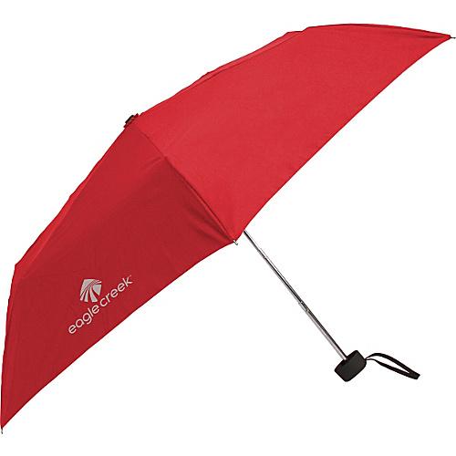 Eagle Creek Rain Away Travel Umbrella Torch Red - Eagle Creek Umbrellas and Rain Gear