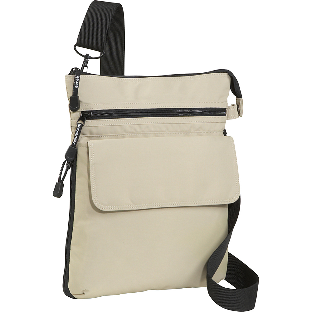 Derek Alexander Large Top Zip Organizer - Cross Body - Handbags, Fabric Handbags