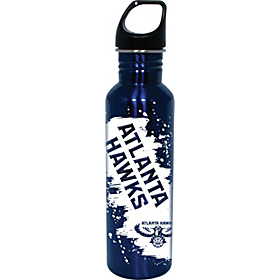 Atlanta Hawks Water Bottle Blue