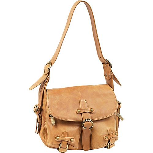 ClaireChase Florentine Handbag - Tan
