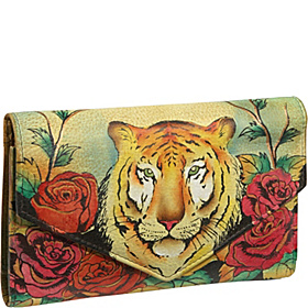 Checkbook Wallet: Tiger in Love Tiger in Love
