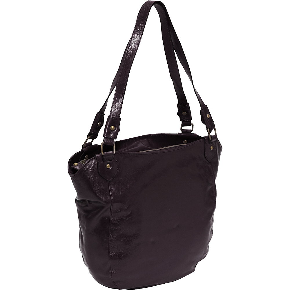 Latico Leathers Waverly Blackberry - Latico Leathers Leather Handbags - Handbags, Leather Handbags