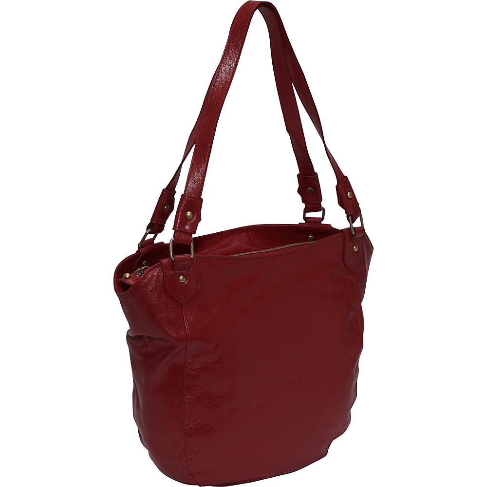 Latico Leathers Waverly Burgundy Latico Leathers Leather Handbags