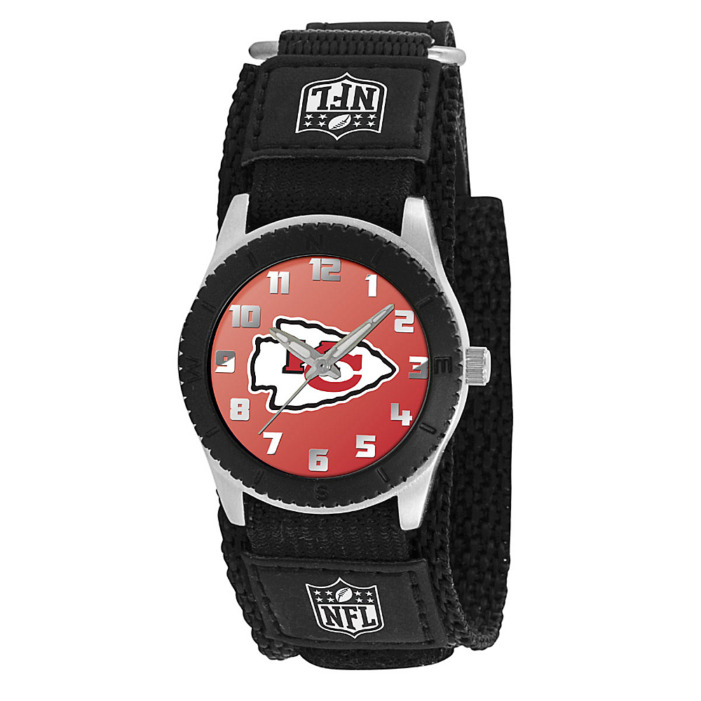 Game Time Rookie Black NFL Kansas City Chiefs Black Game Time Watches