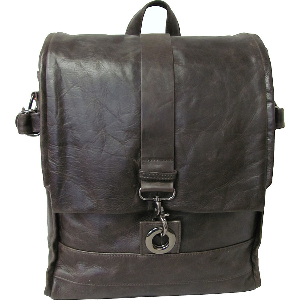 AmeriLeather Vintage Messenger Bag / Backpack Waxy Brown - AmeriLeather Messenger Bags - Work Bags & Briefcases, Messenger Bags
