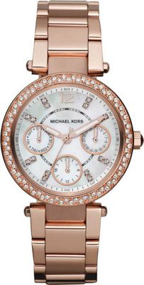 Michael Kors Watches Parker - Rose Gold Metal
