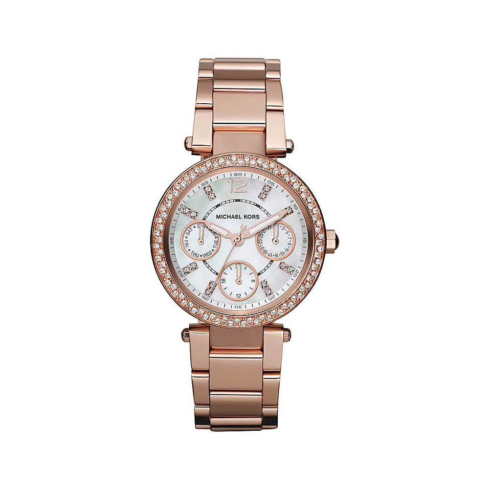 Michael Kors Watches Parker Rose Gold Metal