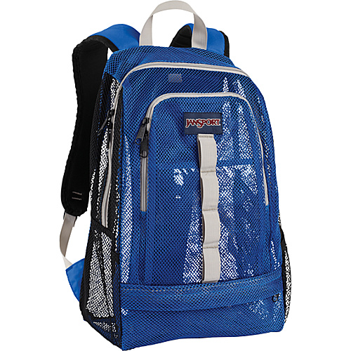 JanSport Specter - Black/Blue Streak - Backpacks, School & Day Hiking Backpacks