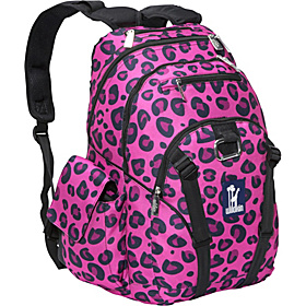 Pink Leopard Serious Backpack Pink Leopard