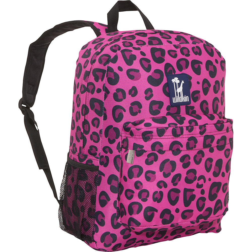 Wildkin Pink Leopard 16 Inch Backpack Pink Leopard - Wildkin Everyday Backpacks - Backpacks, Everyday Backpacks