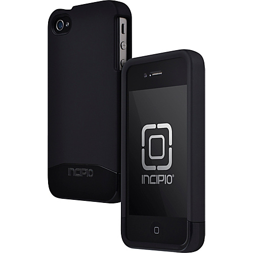 Incipio EDGE PRO for iPhone 4/4S - Matte Black/Black