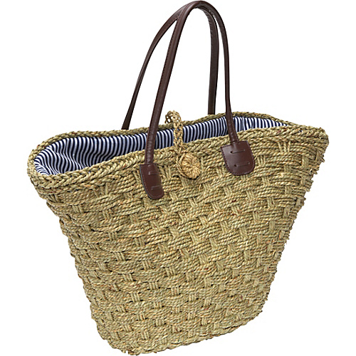 San Diego Hat Seagrass Beach Bag - Shoulder Bag