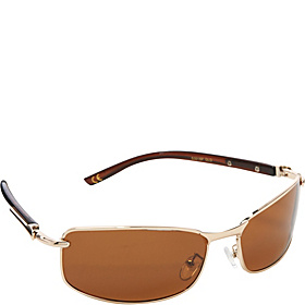 Polarized Rectangular Sunglasses Gold