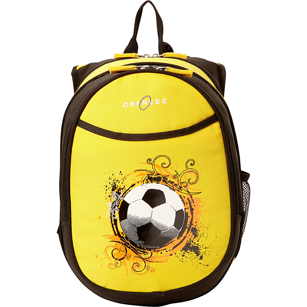 Obersee Kids Pre-School Soccer Backpack with Integrated Lunch Cooler Soccer - Obersee Everyday Backpacks