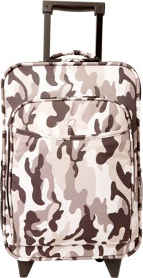 Obersee Kids Camo 16 inch Upright Carry-On Camo - Obersee Softside Carry-On