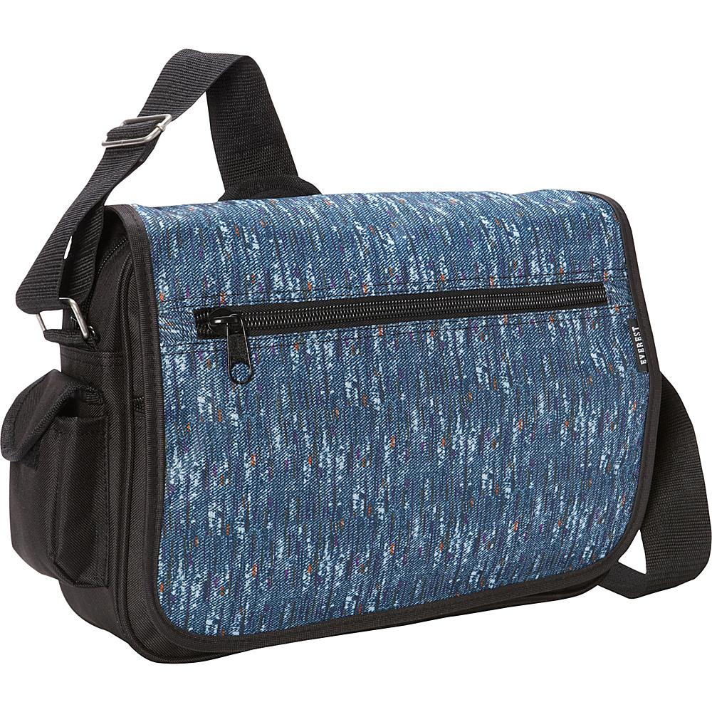 Everest Casual Messenger Blue Tweed - Everest Messenger Bags - Work Bags & Briefcases, Messenger Bags