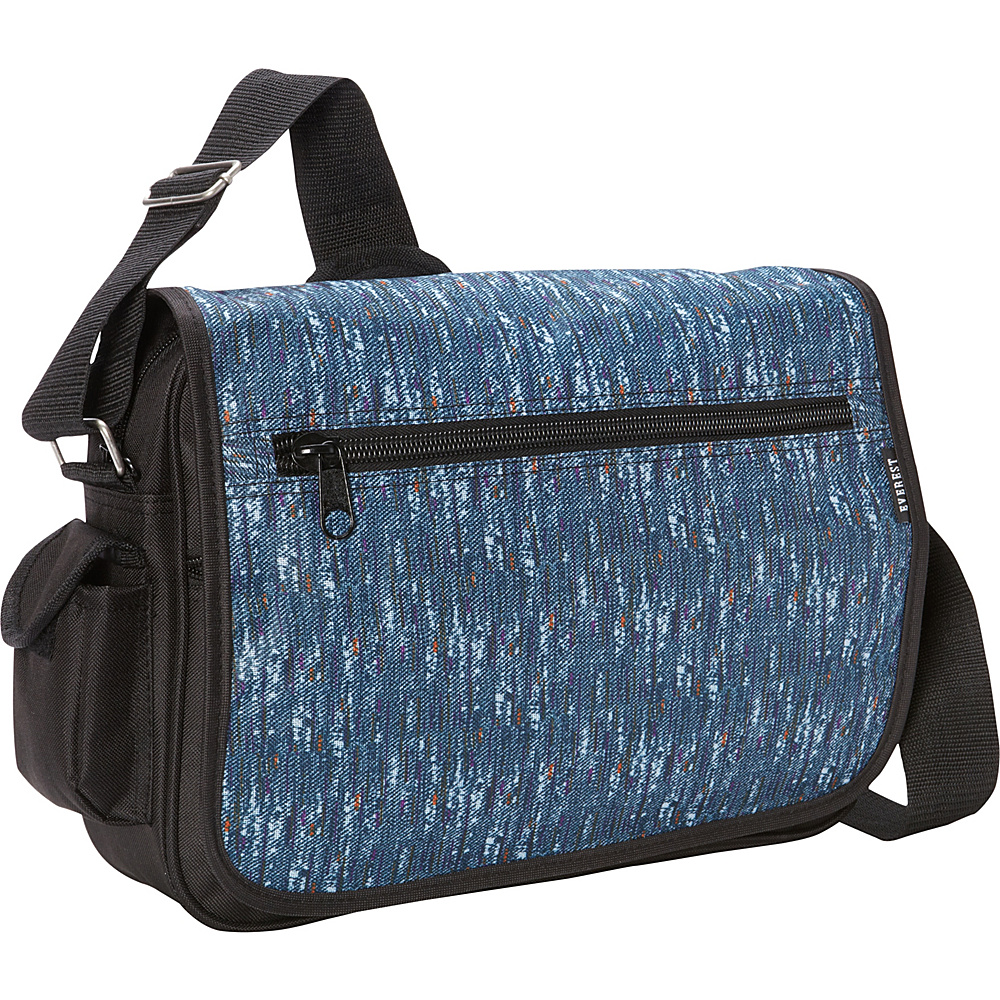 Everest Casual Messenger Blue Tweed Everest Messenger Bags