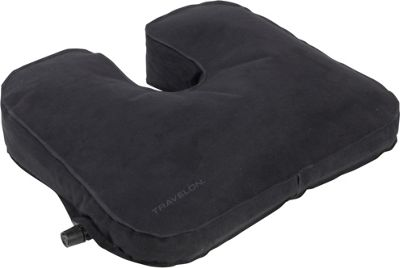 Travelon Self Inflating Seat Cushion Black - Travelon Travel Health & Beauty