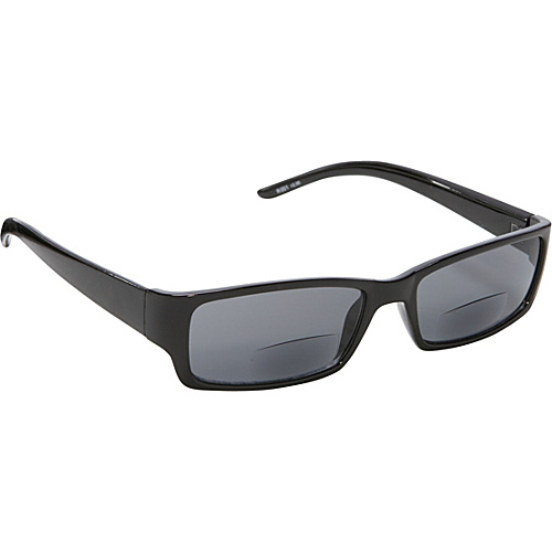 SW Global Rectangle Fashion Sunglasses Black with Vision Power 2.0 Black - SW Global Eyewear