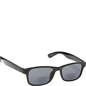 Square Fashion Sunglasses Black with Vision Power 3.0 Black