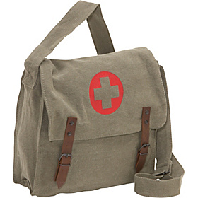 Vintage Medic Bag w/ Cross Sage