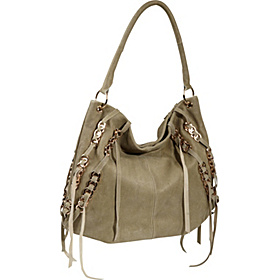 Cameron Chain Detail Hobo Sage
