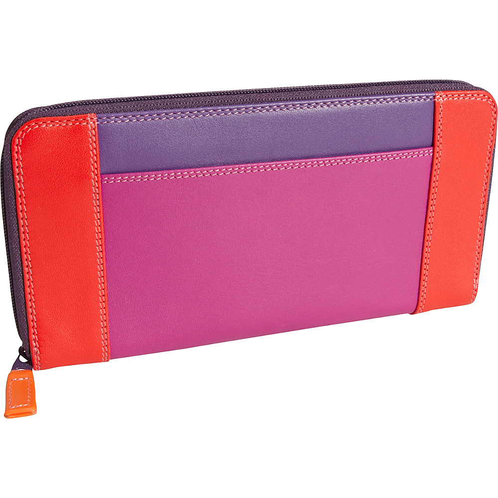 MyWalit Zip Round Purse Sangria - MyWalit Women's Wallets