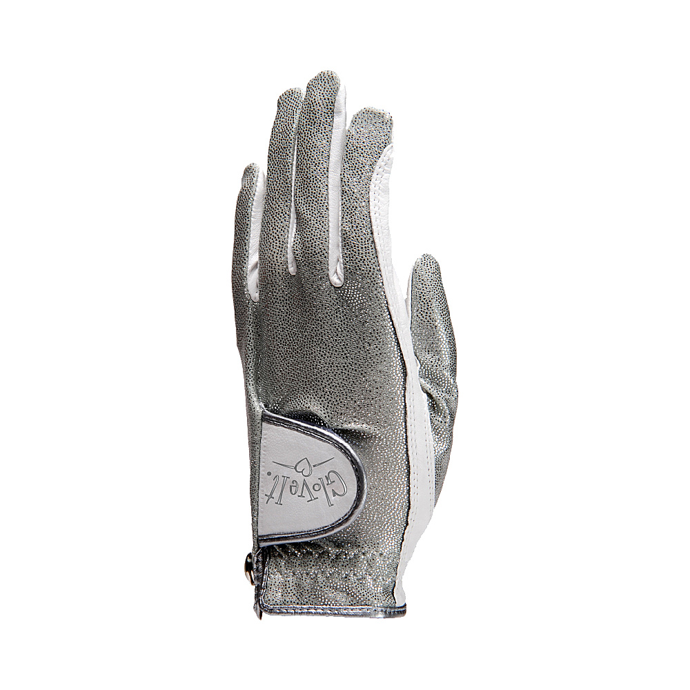 Glove It Silver Bling Glove Silver Left Hand Med - Glove It Golf Bags