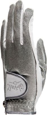 Glove It Silver Bling Glove Silver Left Hand Small - Glove It Sports Accessories