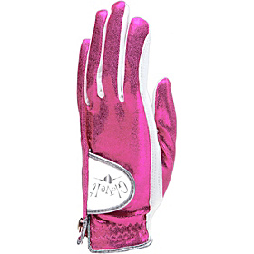 Hot Pink Bling Glove Hot Pink Left Hand Large