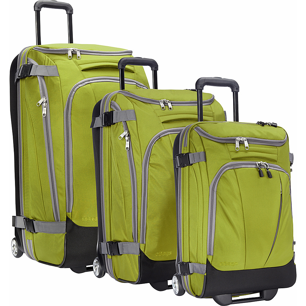 "eBags Value Set: TLS 29"" + TLS Junior 25"" + TLS Mini 21"" Wheeled Duffels Green Envy - eBags Luggage Sets"