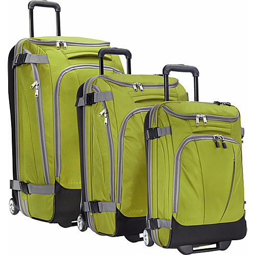 eBags Value Set: TLS 29″ + TLS Junior 25″ + TLS Mini 21″ Wheeled Duffels Green Envy – eBags Luggage Sets