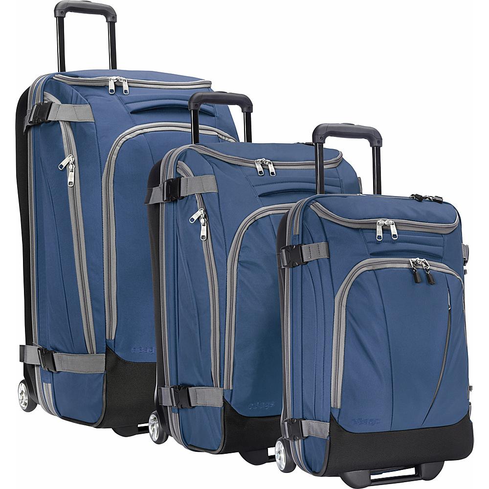 eBags Value Set: TLS 29 + TLS Junior 25 + TLS Mini 21 Wheeled Duffels Blue Yonder - eBags Luggage Sets - Luggage, Luggage Sets