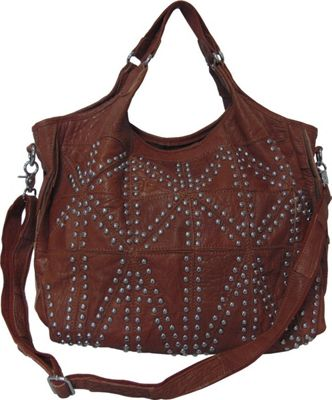 AmeriLeather Spirit Tote Brown - AmeriLeather Leather Handbags