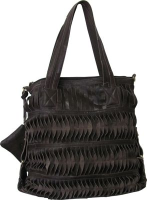 AmeriLeather Oida Tote Chocolate Brown - AmeriLeather Gym Bags