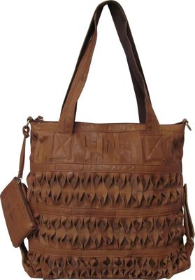 AmeriLeather Oida Tote Saddle Brown - AmeriLeather Gym Bags