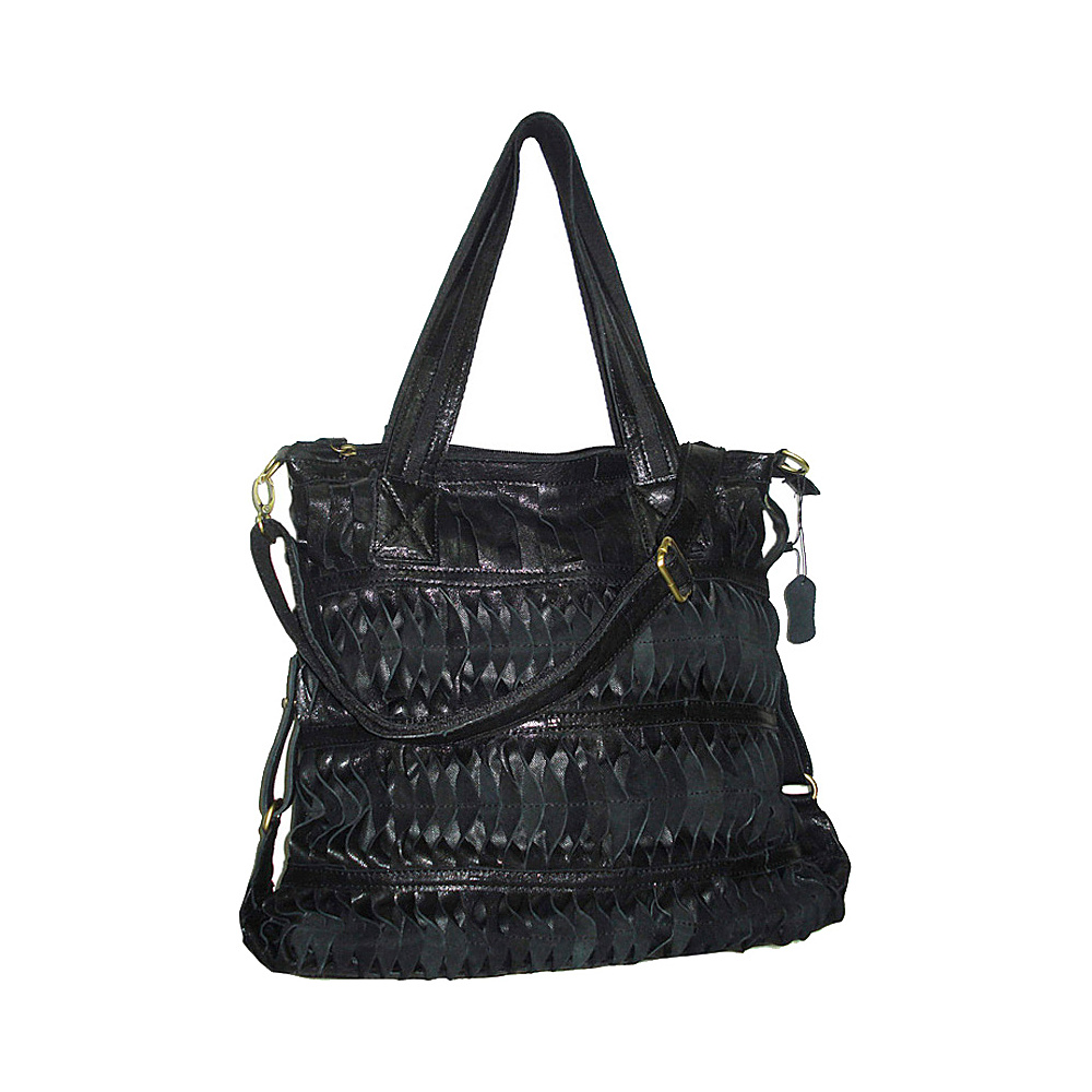 AmeriLeather Oida Tote Black - AmeriLeather Leather Handbags - Handbags, Leather Handbags