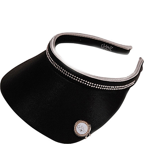 BLACK BLING VISOR - $18.99