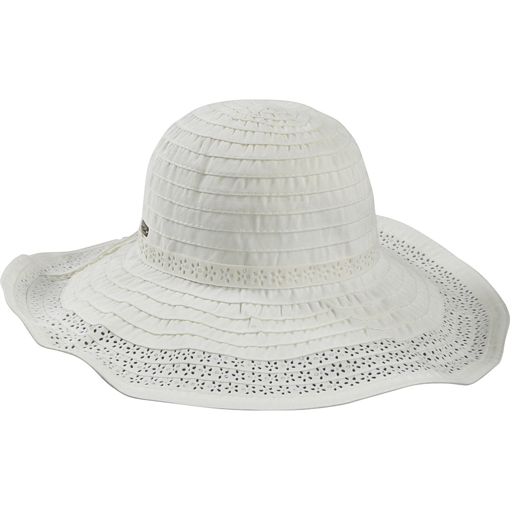 Sun N Sand Sunday Picnic One Size - White - Sun N Sand Hats/Gloves/Scarves - Fashion Accessories, Hats/Gloves/Scarves