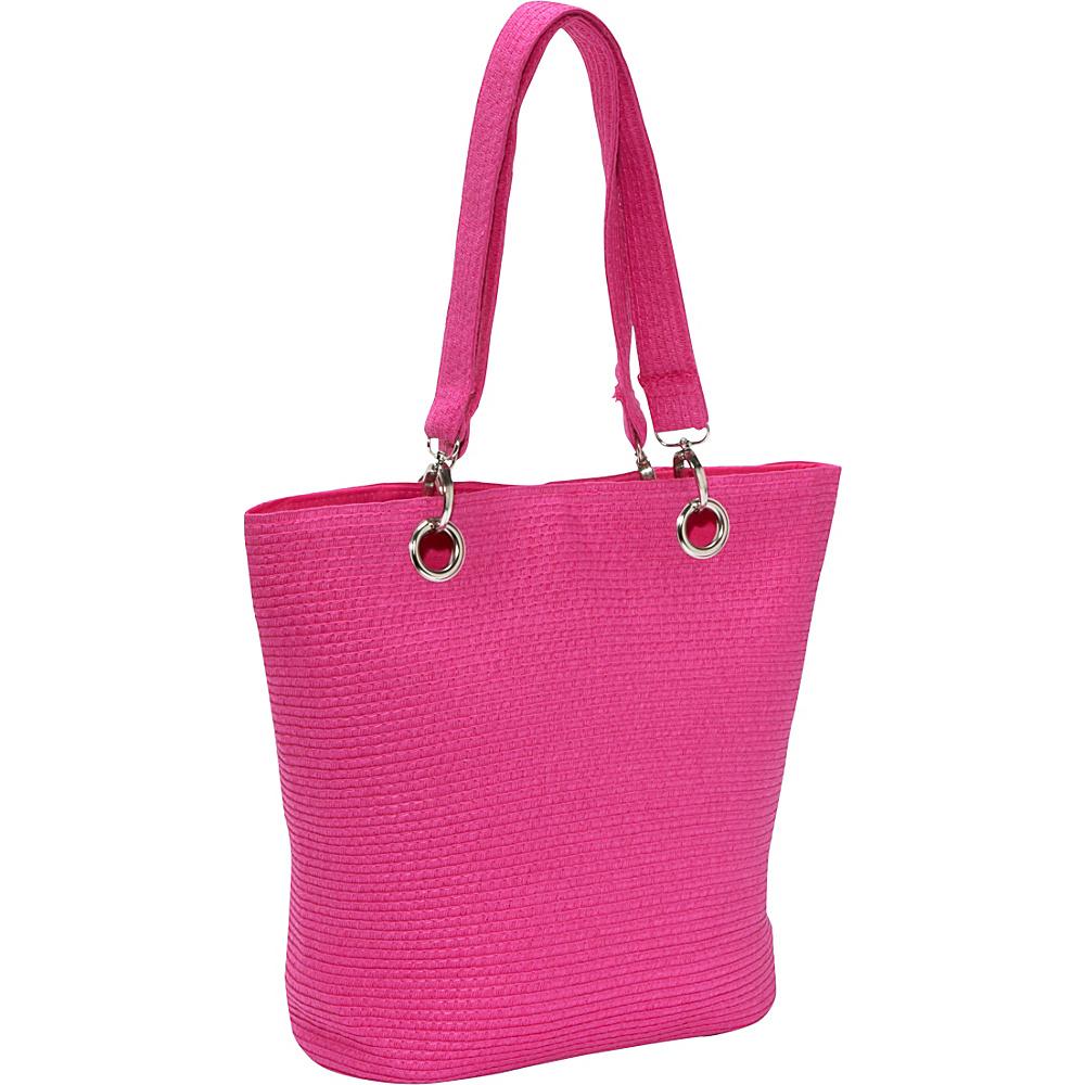 Sun N Sand Summer Chic Fuchsia - Sun N Sand Fabric Handbags - Handbags, Fabric Handbags