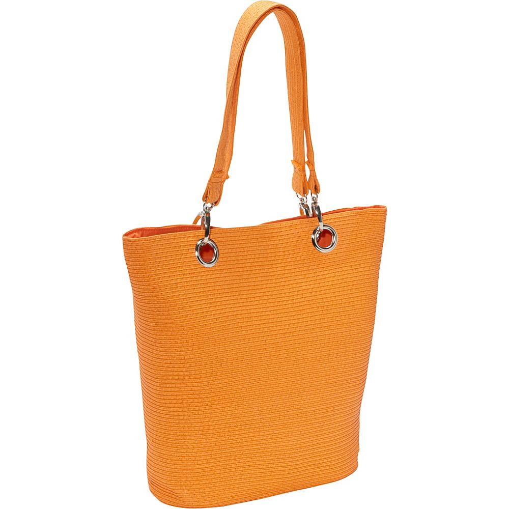 Sun N Sand Summer Chic Orange - Sun N Sand Fabric Handbags - Handbags, Fabric Handbags