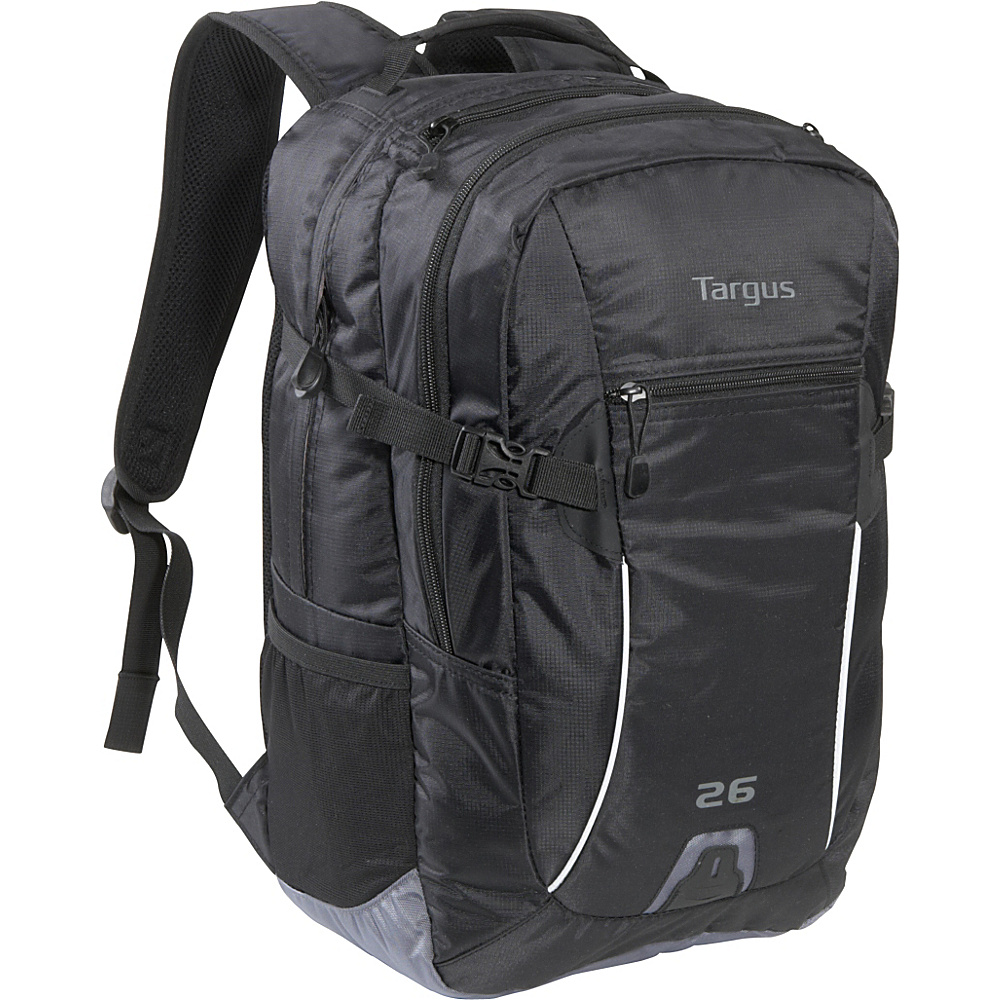 "Targus Sport 26L Laptop Backpack - 16"" Black - Targus Business & Laptop Backpacks"